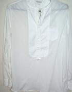Koszula łączone materiały casual minimal trend
