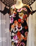 Sukienka kwiatowy print