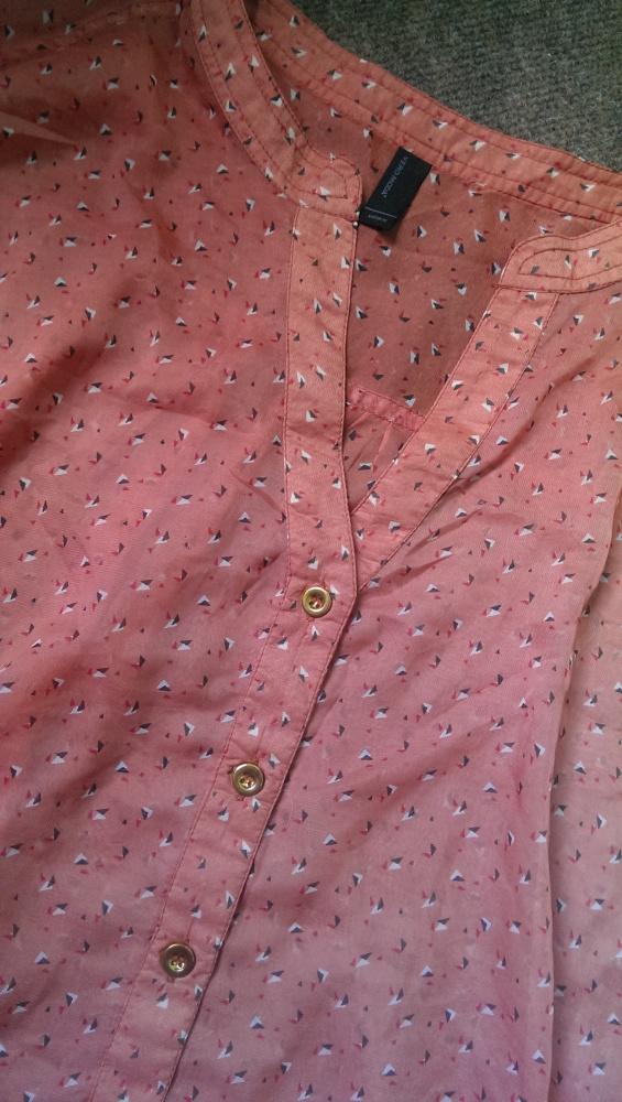 bluzka mgiełka we wzory...