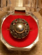 Imago Artis pierścionek srebrna kopułka