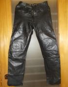 Spodnie Skórzane czarne...