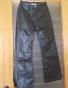 Spodnie Skóropodobne Czarne...