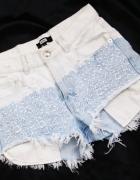 bikbok dżinsowe krótkie spodenki szorty jeans rozmiar S...