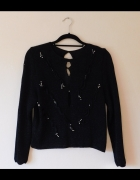 Giovanna czarny sweter bluzka sexy 38...