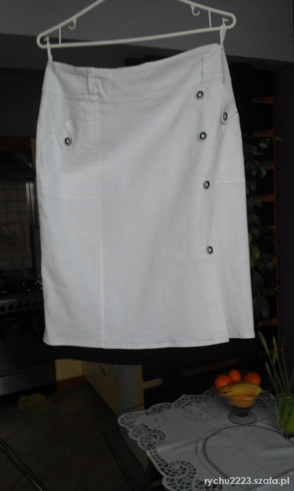 Spódnice Biała z czarnym