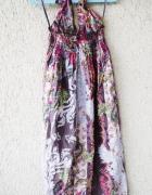 new look długa sukienka maxi wzorzysta boho rozmiar 40...