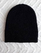 Czarna czapka H&M