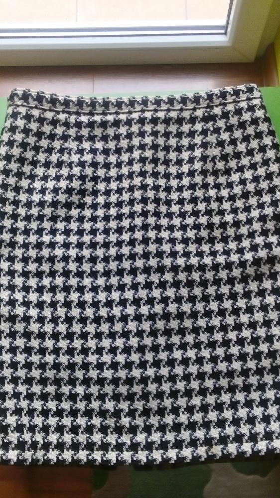 Spódnice Spódnica w pepitkę grubsza 40 L