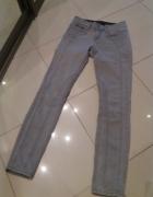 Szare jeansy Lindex
