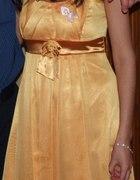 Śliczna Pomarańczowa sukienka