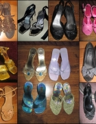 Zestaw 12 par butów rozmiar 37...