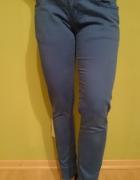 Spodnie niebieskie rurki