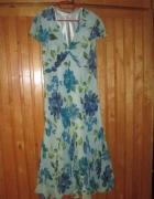 Powiewna sukienka CC rozmiar 42