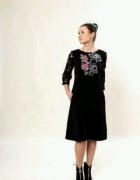 Sukienka Flower czarna