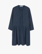 Sukienka retro kropki wiązana Mango XS S