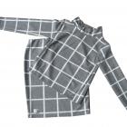 Piękny zestaw bluzka i spódnica