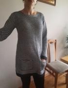 tunika sweter rozm S