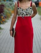 Czerwona sukienka 38 z metką...