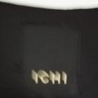 Czarna sukienka Ichi w geometryczne wzory