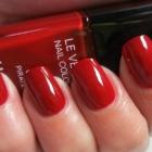 czerwone pazurki chanel