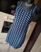 Sukienka w grochy TOPSHOP...