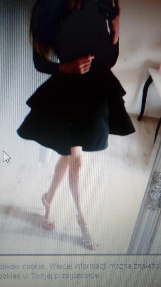 Talya Auroria czarna sukienka...