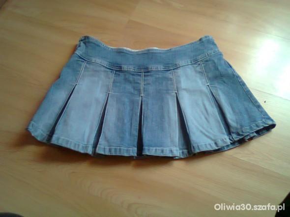 Spódnice Dżinsowa spódniczka mini