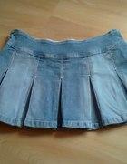 Dżinsowa spódniczka mini...
