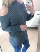 Sweter bez ramion h&m