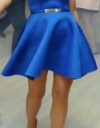 Sukienka rozkloszowana 36 z pianki