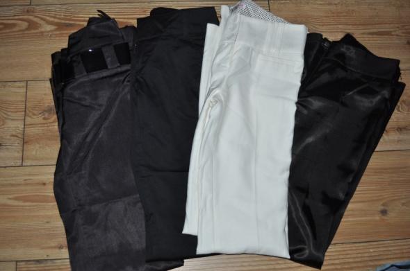 39dc998f2b65 4 pary eleganckich spodni z kantem rozmiar 32 43 w Spodnie - Szafa.pl