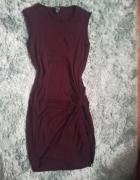 sukienka z wiązaniem...