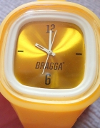 żółty jelly watch Bragga...