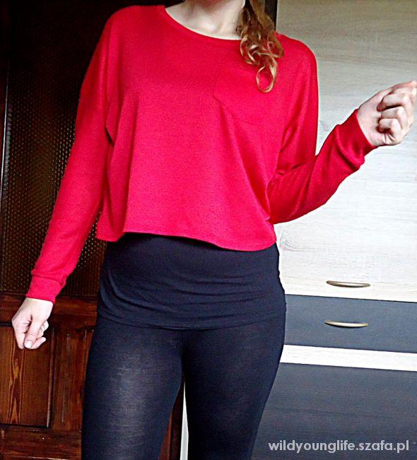 krótki sweterek Chillin Cropp