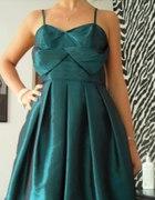 Sukienka bombka turkusowa Ette Lou M lub b małe L