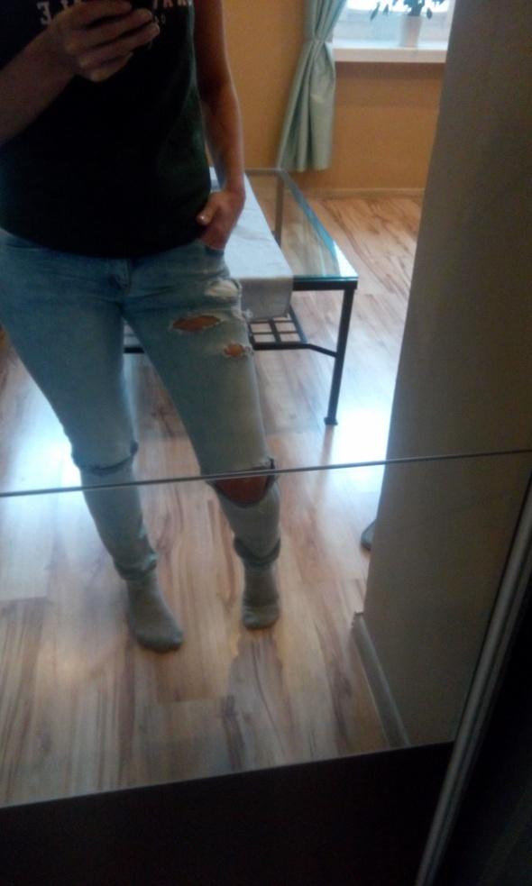 jeansy pull&bear...