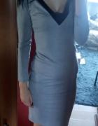 Sukienka szara...