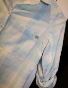 Koszula w kratęniebieska