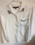 Biała elegancka bluzka Reserved