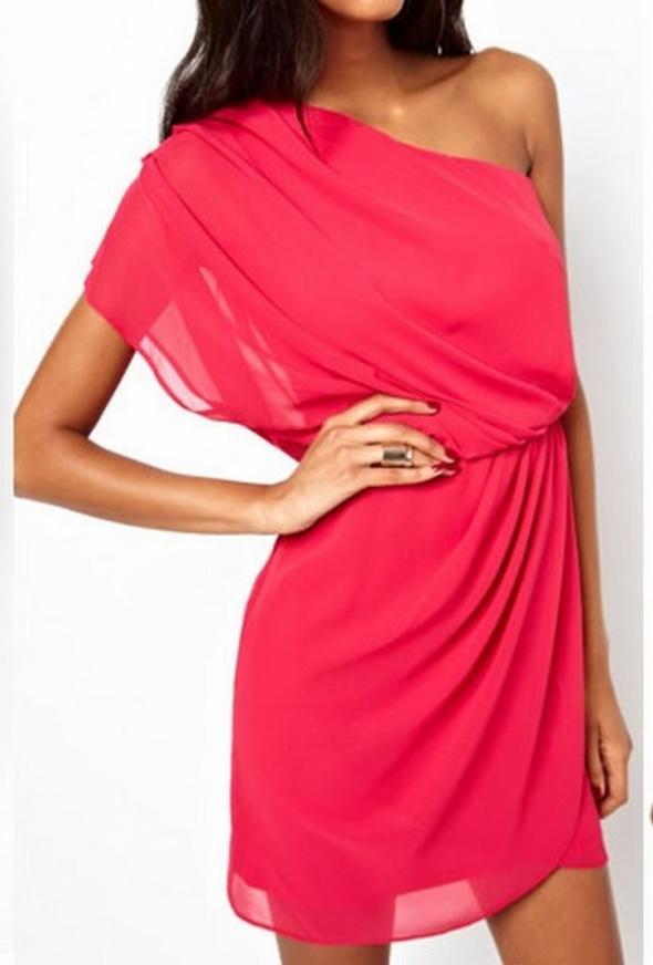 Sukienka szyfonowa piękna Amisu 38