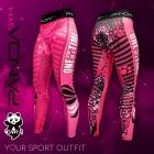 Legginsy Panda GYM Pink Run