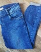 Rurki C&A rozmiar 40 spodnie damskie jeansy...