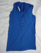 Niebieska seksowna sukienka...