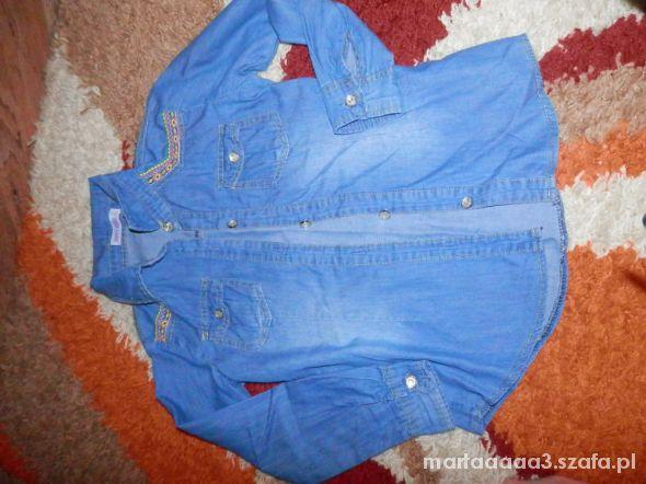 Bluzki koszula jeansowa