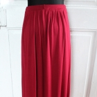 Maxi bordowa spódnica r M