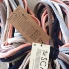 Nowy szal chusta komin kolorowy ręcznie robiony