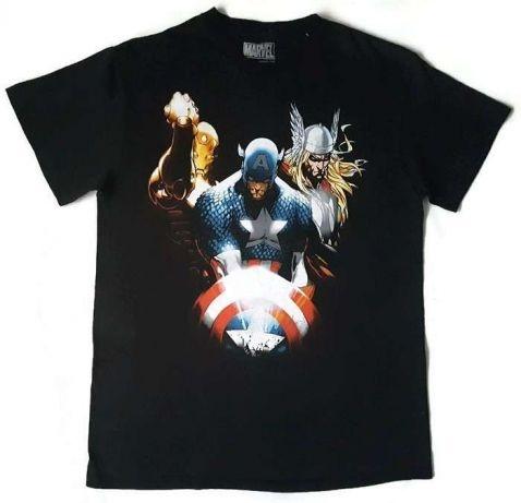 Kapitan Ameryka Thor Marvel T Shirt S M