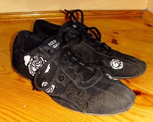 Sportowe Buty sportowe adidasy damskie w kwiaty kwiat 39 40