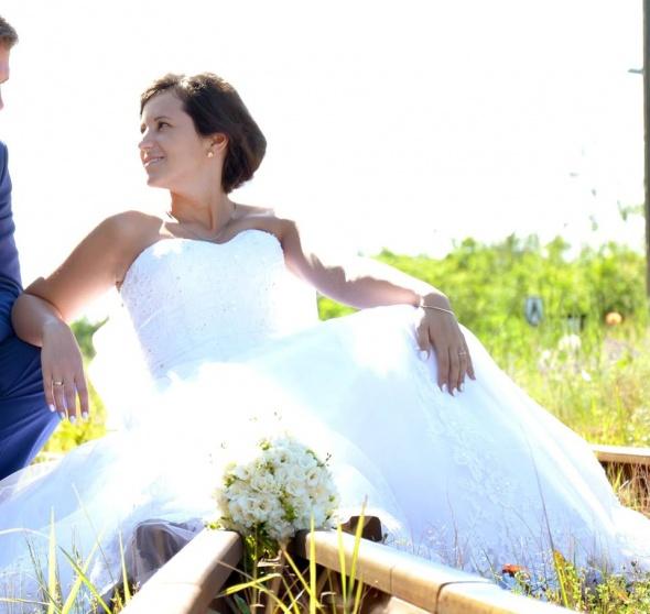 Piękna suknia ślubna annais latoya...
