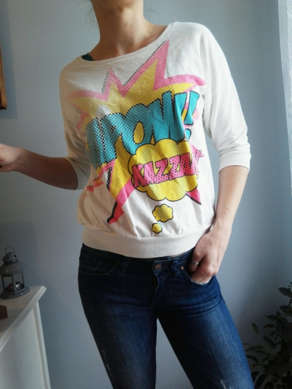 Bluzy krótka bluza rozm S